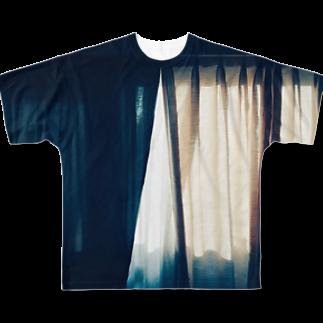 mebuki_unkoのカテン Full graphic T-shirts