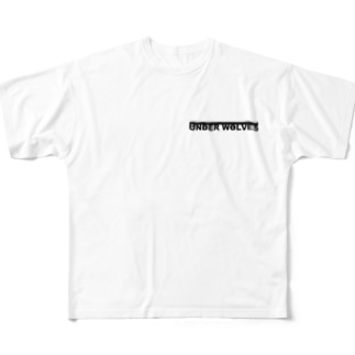 UNDER WOLF Tシャツ Full graphic T-shirts