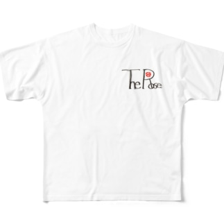 The Rose Full graphic T-shirts