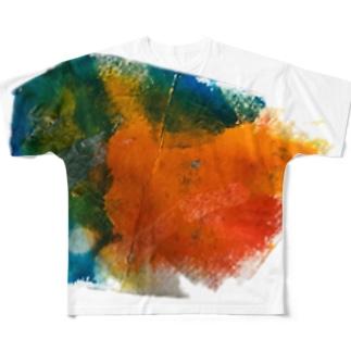 彩色 Full graphic T-shirts