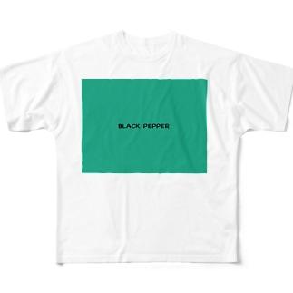 初めてのBLACKPEPPER Full graphic T-shirts
