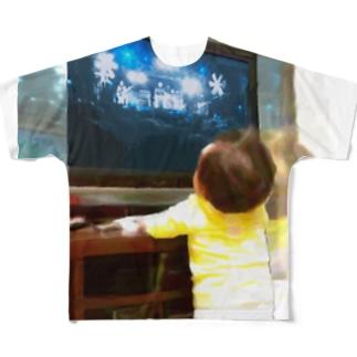 聴衆 - audience Full graphic T-shirts