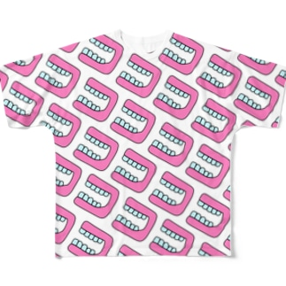 ほぼ入れ歯 Full graphic T-shirts