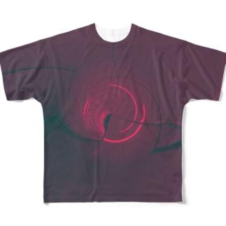 『よる』 Full graphic T-shirts