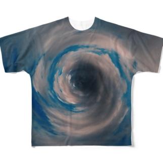 全部、嘘。 Full graphic T-shirts