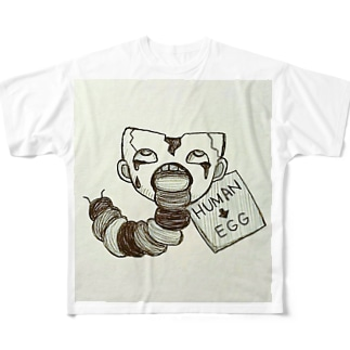 変身 Full graphic T-shirts