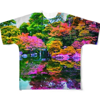 おにわ Full graphic T-shirts