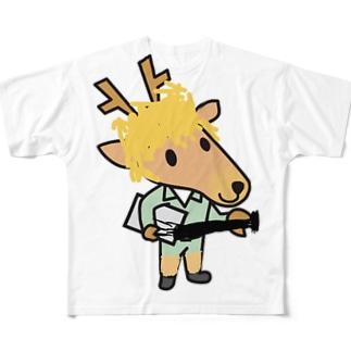 イケてるベースマン Full graphic T-shirts