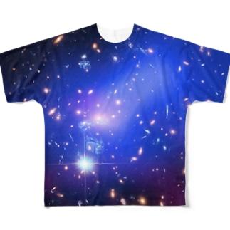 宇宙の藻屑 Full graphic T-shirts