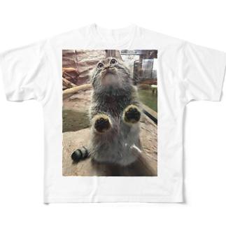 マヌルネコ Full graphic T-shirts