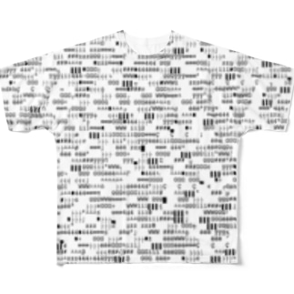 文字列2 Full graphic T-shirts