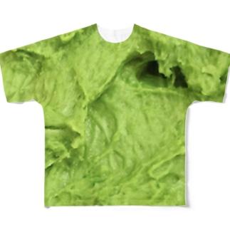 緑 Full graphic T-shirts