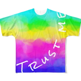 Trust me Full graphic T-shirts