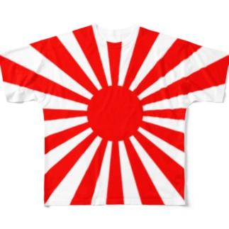 【大和魂!】旧旭日旗グッズ Full graphic T-shirts