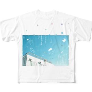 游ぐ Full graphic T-shirts
