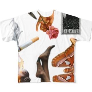 インフゥクションスリット Full graphic T-shirts