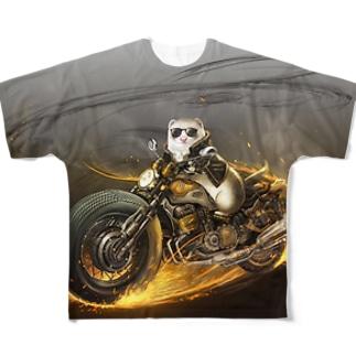 チャリティグッズ*エージェントMUCHI Full graphic T-shirts