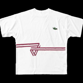___cluのO DO RU Full graphic T-shirts