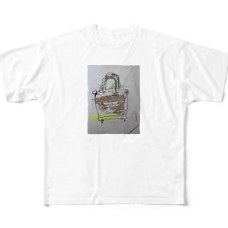 ゴリゴリバック Full graphic T-shirts