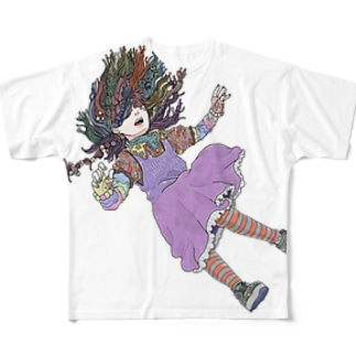 HELLO Full graphic T-shirts