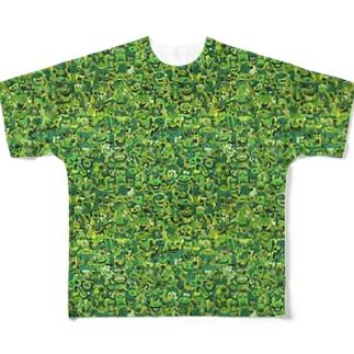 グレエン Full graphic T-shirts