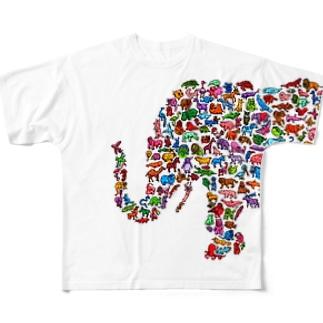 ぞう Full graphic T-shirts