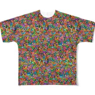 ハルロウェエン Full graphic T-shirts