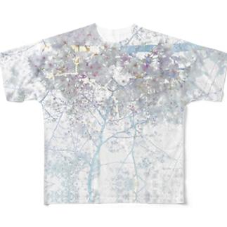 新宿からの手紙 新宿の桜 Full graphic T-shirts