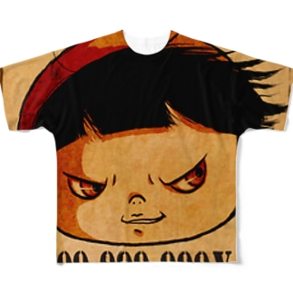 WANTED Full graphic T-shirts