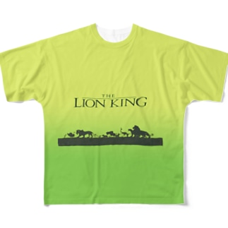 LION KING Full graphic T-shirts