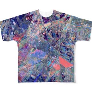 かくかくからふる Full graphic T-shirts