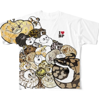 ボールパイソン01 Full graphic T-shirts
