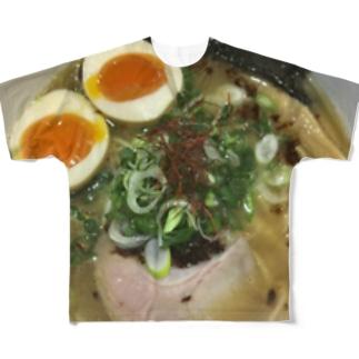 らーめん Full graphic T-shirts