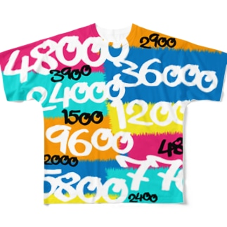 POINTS OYABAN pop Full graphic T-shirts