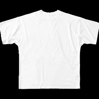 KKr closetのお腹空いたT(ハングル) Full graphic T-shirts
