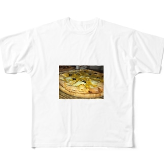 美味しいpizza Full graphic T-shirts