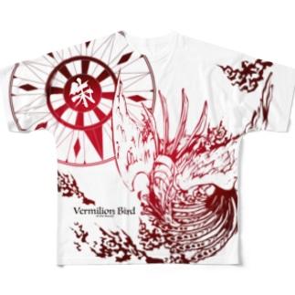 朱雀 Full graphic T-shirts