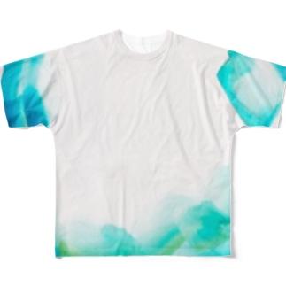 海 Full graphic T-shirts