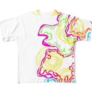 脳内 Full graphic T-shirts