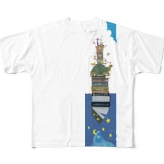 ASO2019×菊地純 -stories2- Full graphic T-shirts
