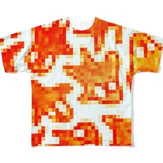 シンギュラリティ Full graphic T-shirts