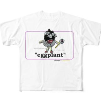 賀茂茄子 Full graphic T-shirts