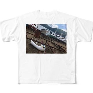 世代交代 Full graphic T-shirts