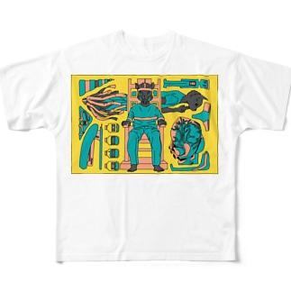 思い見る Full graphic T-shirts