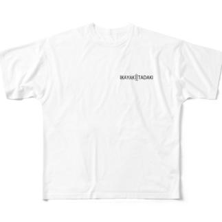 IKAYAKIITADAKI Full graphic T-shirts
