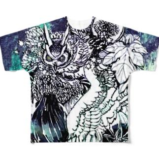 復讐の証明 Full graphic T-shirts