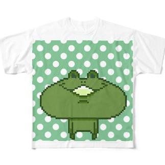 ケロン君 Full graphic T-shirts