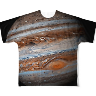 """the JUPITER / 成功と発展の星"" Full graphic T-shirts"
