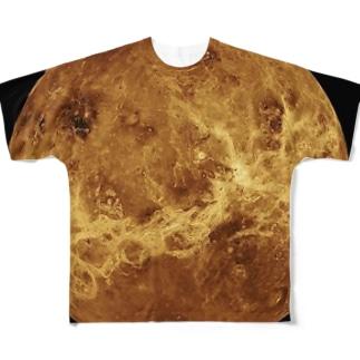 """the VENUS - 美と芸術の星"" Full graphic T-shirts"