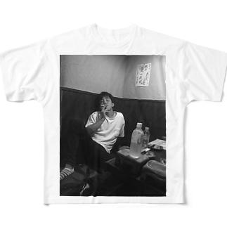 陸奥田 Full graphic T-shirts